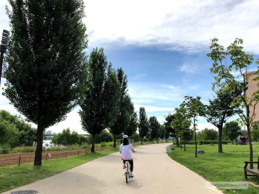 จุดเริ่มต้น เส้นทางปั่นจักรยานในเกาหลี