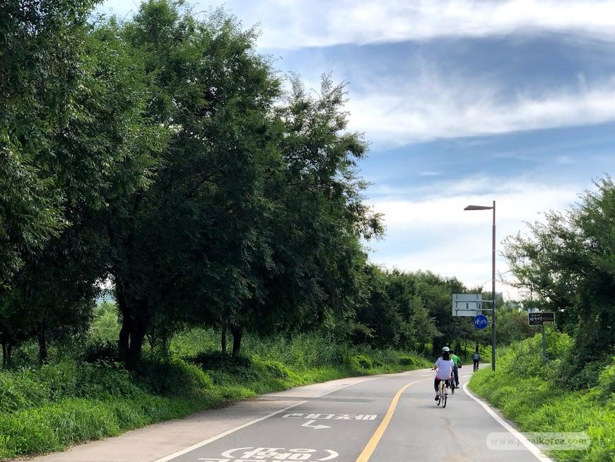 เส้นทางปั่นจักรยานในโซล