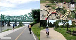 ปั่นจักรยานในโซล ริมแม่น้ำฮันกัง