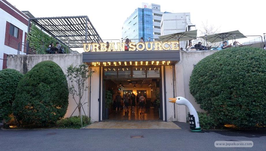 Urban Source ร้านกาแฟในเกาหลี ย่านซองซู (Seongsu) คาเฟ่น่านั่ง โซล