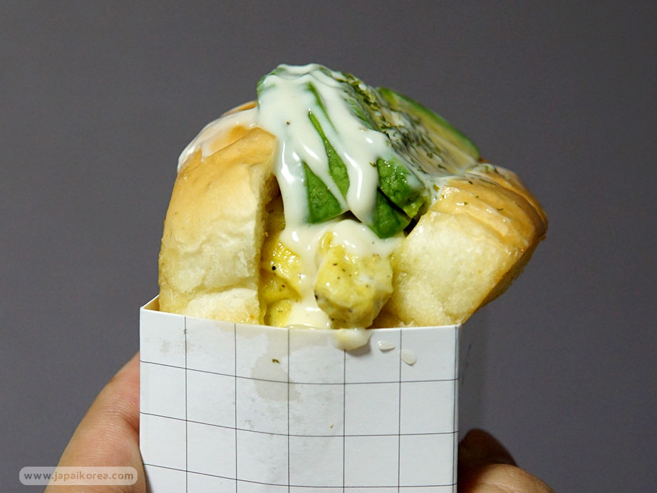 แซนด์วิชไข่ เกาหลี EGG DROP