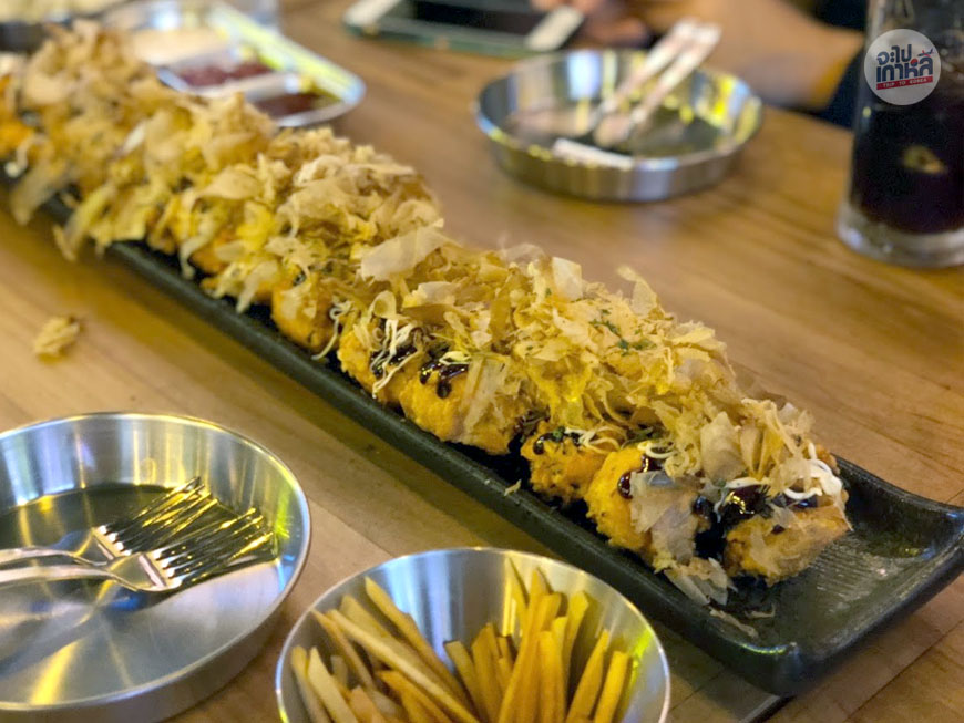ไก่ทาโกะยากิ Takoyaki Chicken