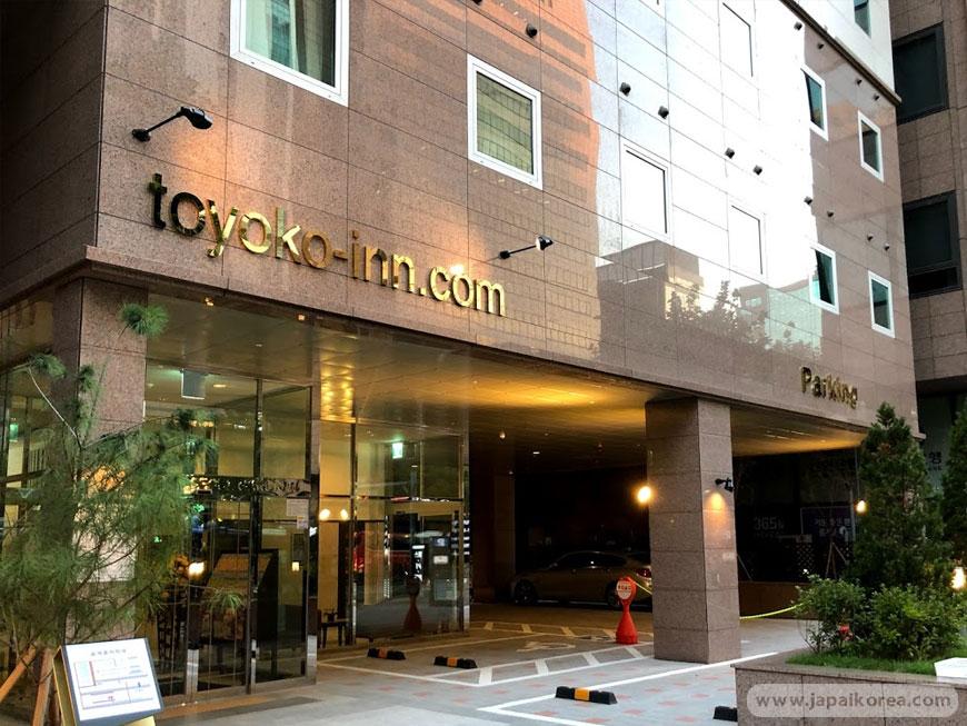 โรงแรม Toyoko Inn โทโยโกะ อินน์ กังนัม คังนัม