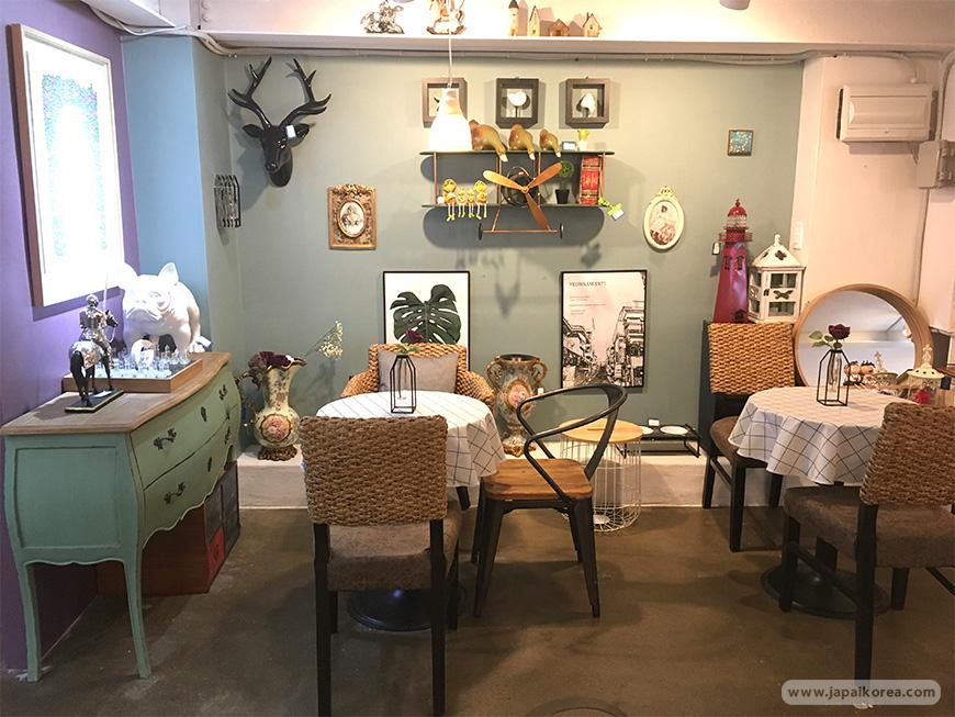 ร้านคาเฟ่ ทาร์ต G.Mayo คาเฟ่เกาหลีน่านั่งย่านยอนนัม