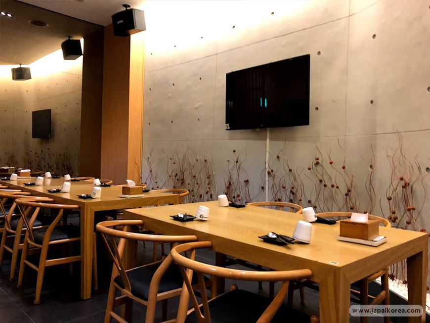 ร้านอาหารญี่ปุ่น ในเกาหลี