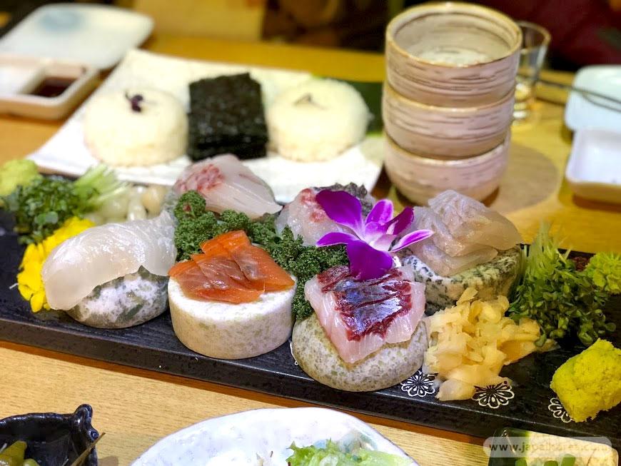 ปลาดิบ ร้านอาหารญี่ปุ่น ในเกาหลี