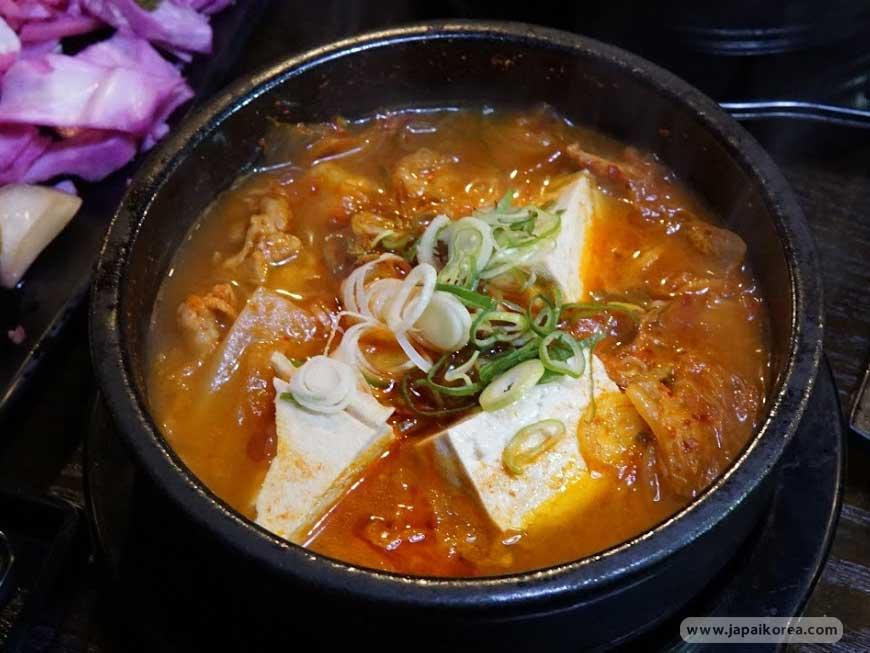 แกงกิมจิ กิมจิจีเก