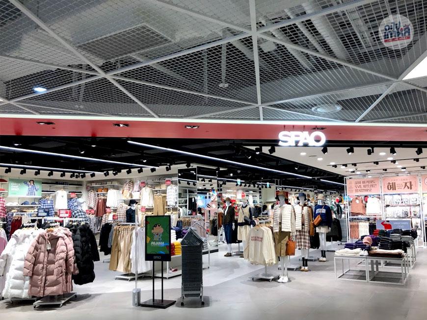 SPAO ร้านเสื้อผ้าเกาหลี