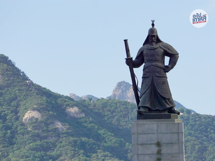 รูปปั้น แม่ทัพ อีซุนชิน