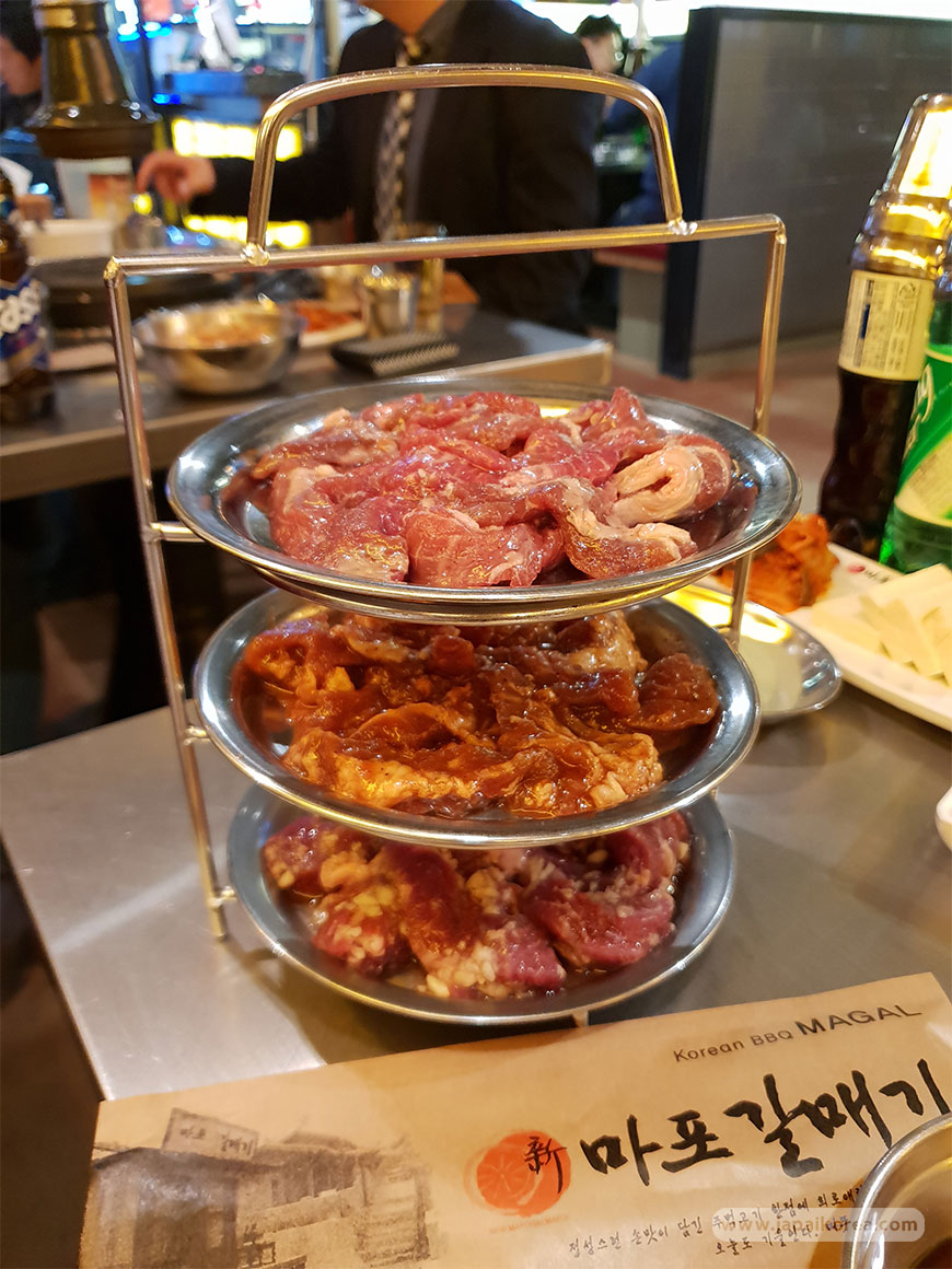 Set menu Galmegi BBQ