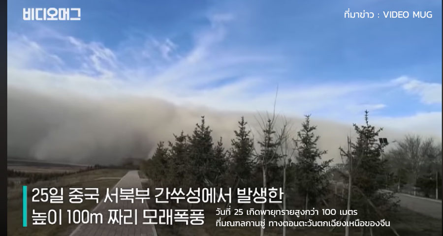 พายุฝุ่น กานซู่