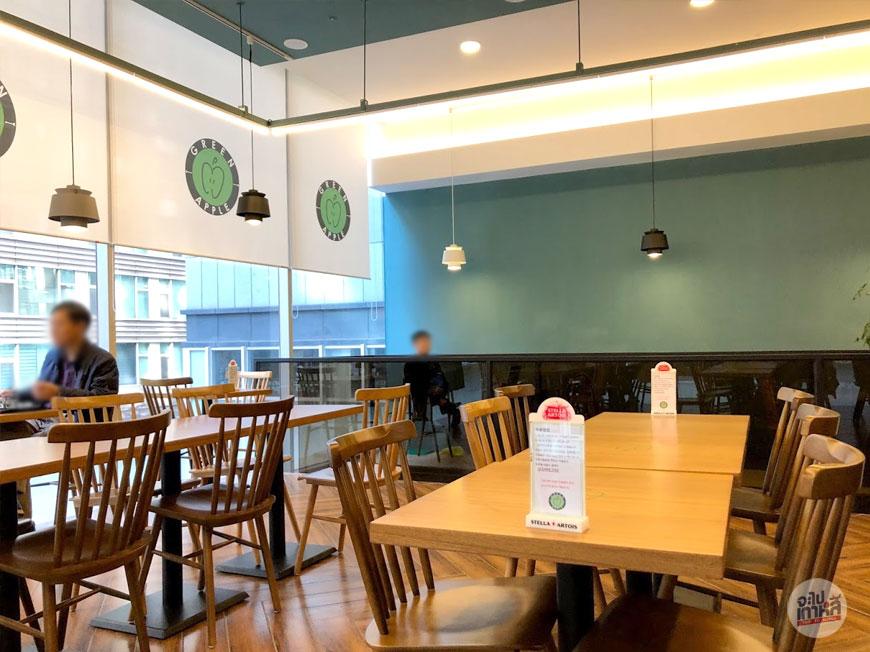 ร้านอาหารกินคนเดียว ในเกาหลี