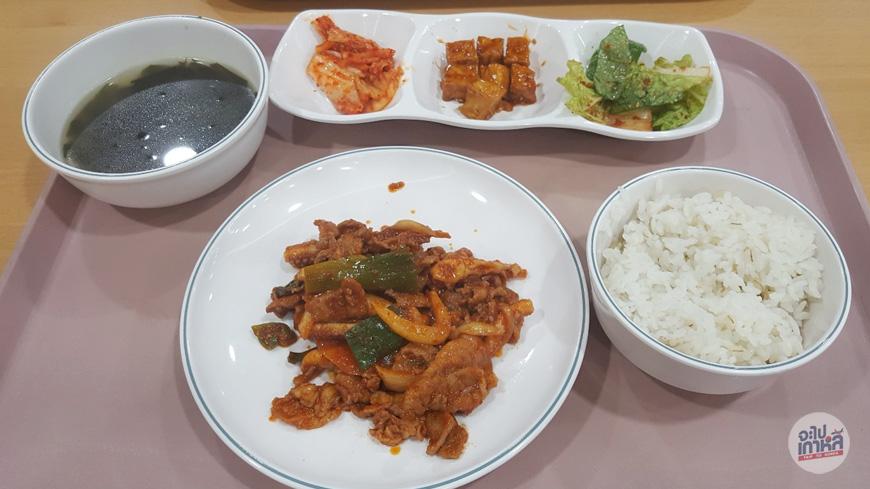 หมูผัดซอส อาหารเกาหลี