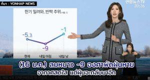 พยากรณ์อากาศเกาหลี