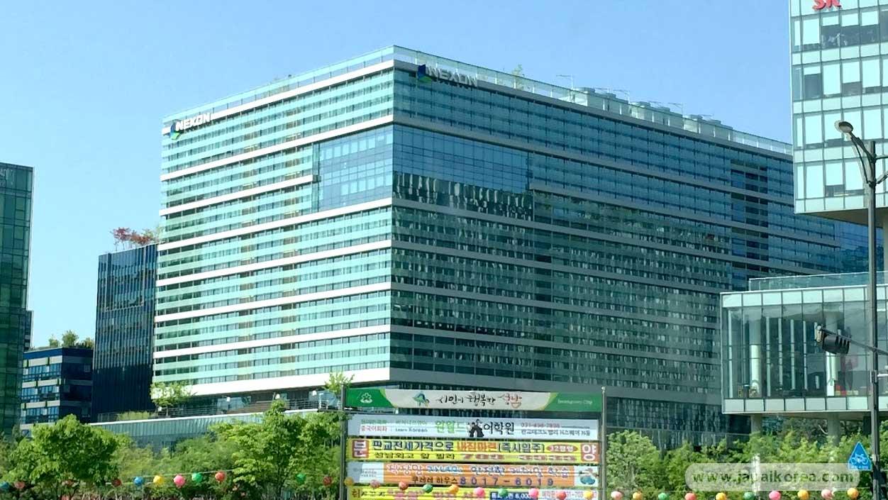 ตึก บริษัทเกม Nexon เกาหลี