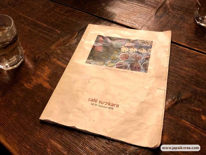 เมนูร้าน Cafe Sukara