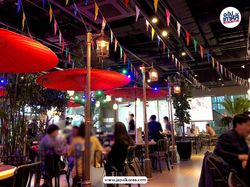 ร้านอาหารไทยในเกาหลี คนไทย ยออีโด